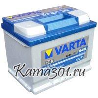 VARTA Blue Dynamic 12V 60Ah 540A прямая полярность 560 127  D43