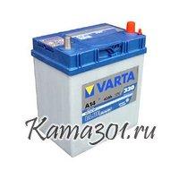 VARTA Blue Dynamic 12V 40Ah 330A обратная полярность 540 126 A14