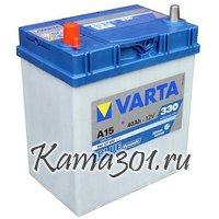 VARTA Blue Dynamic 12V 40Ah 330A прямая полярность 540 127 A15