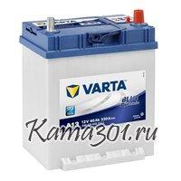 VARTA Blue Dynamic 12V 40Ah 330A обратная полярность 540 125  A13
