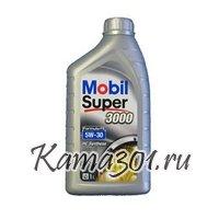 Масло моторное синтетическое Mobil Super 3000 X1 Formula FE 5W-30 1л