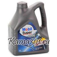 Масло моторное полусинтетическое Mobil Super 2000 X1 10W-40 4л