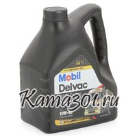 Масло моторное синтетическое дизельное Mobil Delvac XHP Extra 10W-40 4л
