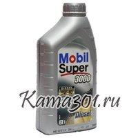 Масло моторное синтетическое дизельное Mobil Super Diesel 3000 Х1 5W-40 1л