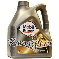 Масло моторное синтетическое дизельное Mobil Super Diesel 3000 Х1 5W-40 4л