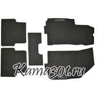 Комплект ковриков CHEVROLET-AVEO (2007-) латексный ПВХ