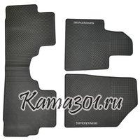 Комплект ковриков KIA-SPORTAGE (2012-) латексный ПВХ